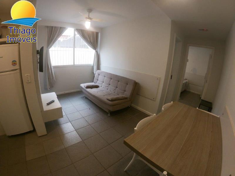 Apartamento com o Código 523001 para alugar na temporada no bairro Canasvieiras na cidade de Florianópolis com 1 dormitorio(s) possui 1 garagem(ns) possui 1 banheiro(s)