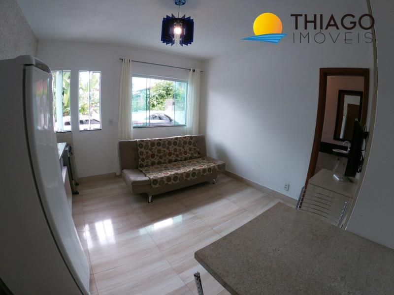 Apartamento com o Código 1101 para alugar no bairro Canasvieiras na cidade de Florianópolis com 1 dormitorio(s) possui 1 garagem(ns) possui 1 banheiro(s)