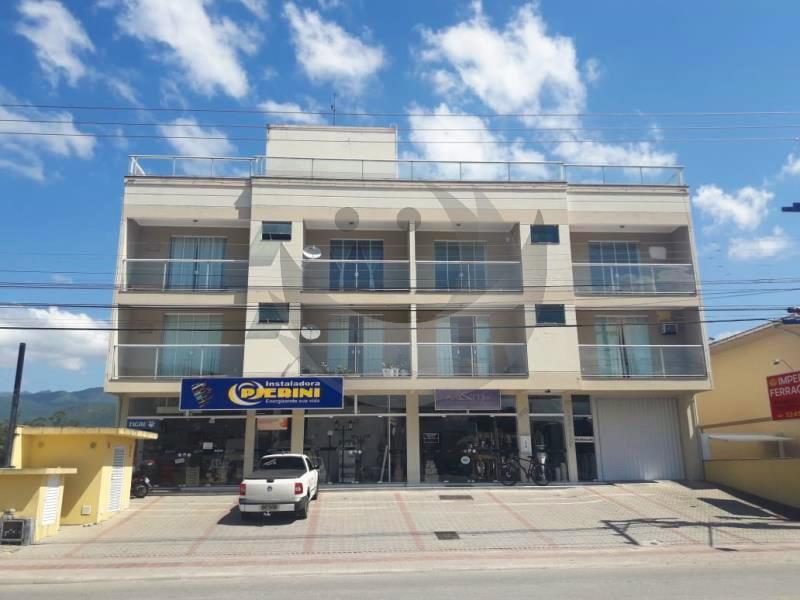 Apartamento Código 25 para alugar no bairro Vila Becker na cidade de Santo Amaro da Imperatriz Condominio edifício doralice