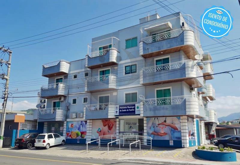 Apartamento Código 88 para alugar no bairro Centro na cidade de Santo Amaro da Imperatriz Condominio edifício bruno eduardo