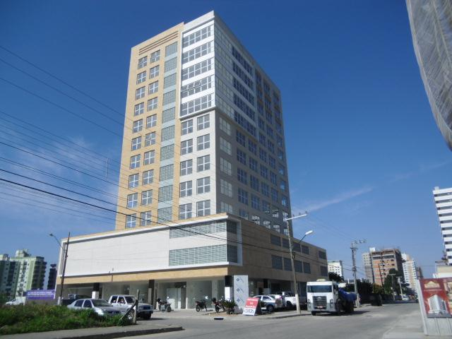 Sala Código 2192 para alugar no bairro Pagani na cidade de Palhoça Condominio comercial city office square