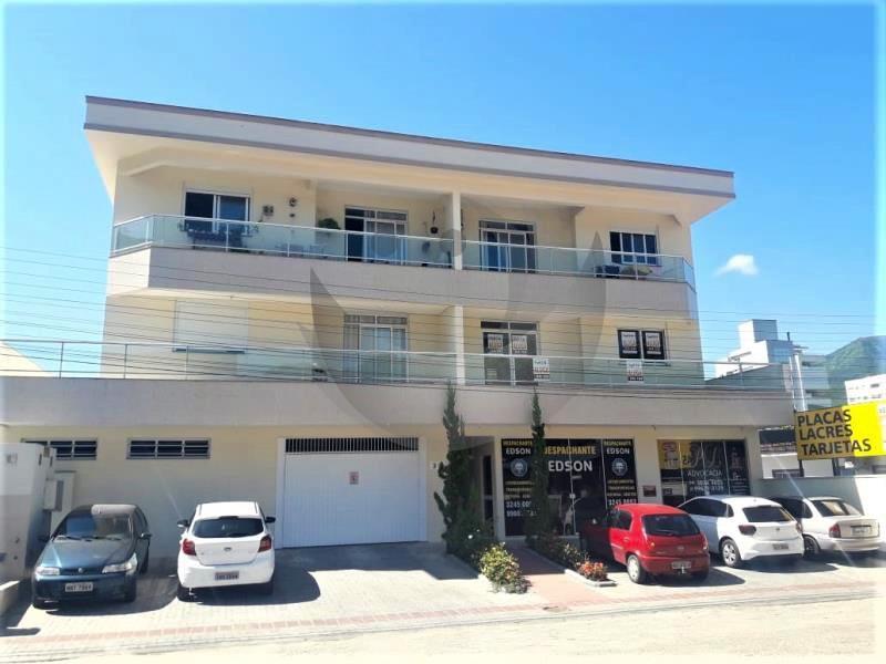 Apartamento Código 2890 para alugar no bairro Centro na cidade de Santo Amaro da Imperatriz Condominio edificio agape