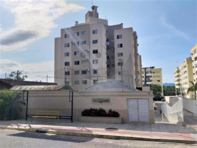 Apartamento Código 3926 para alugar no bairro Ponta de Baixo na cidade de São José Condominio residencial europa