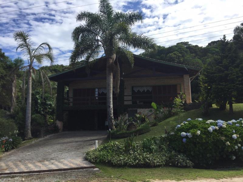 Casa Código 4148 a Venda no bairro Rio dos Bugres na cidade de Rancho Queimado Condominio sossego do rancho