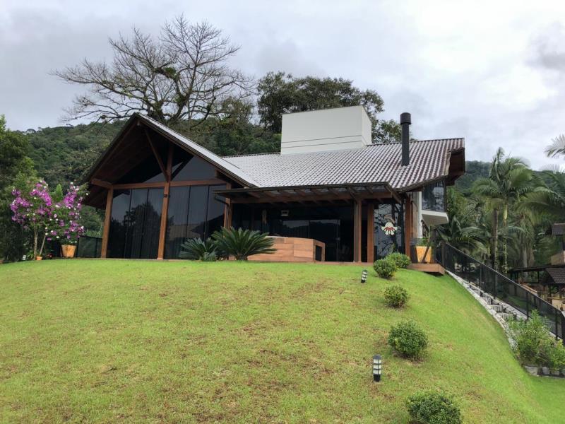 Casa Código 4280 a Venda no bairro Varginha na cidade de Santo Amaro da Imperatriz Condominio verde habitat - casas