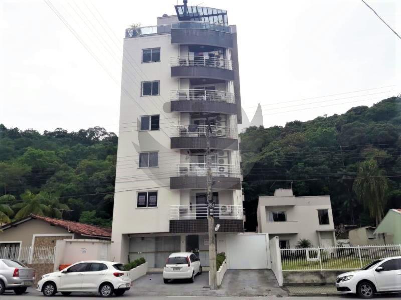 Apartamento Código 4484 a Venda no bairro Centro na cidade de Santo Amaro da Imperatriz Condominio edificio almir coelho