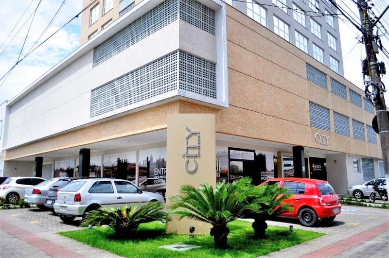 Sala Código 4514 a Venda no bairro Pagani na cidade de Palhoça Condominio comercial city office square