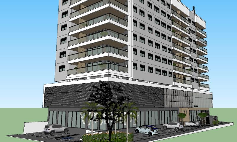 Apartamento Código 4523 a Venda no bairro Centro na cidade de Santo Amaro da Imperatriz Condominio edifício cisne negro