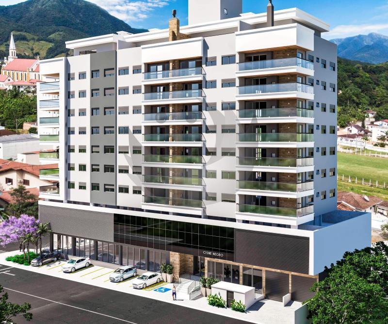 Apartamento Código 4526 a Venda no bairro Centro na cidade de Santo Amaro da Imperatriz Condominio edifício cisne negro