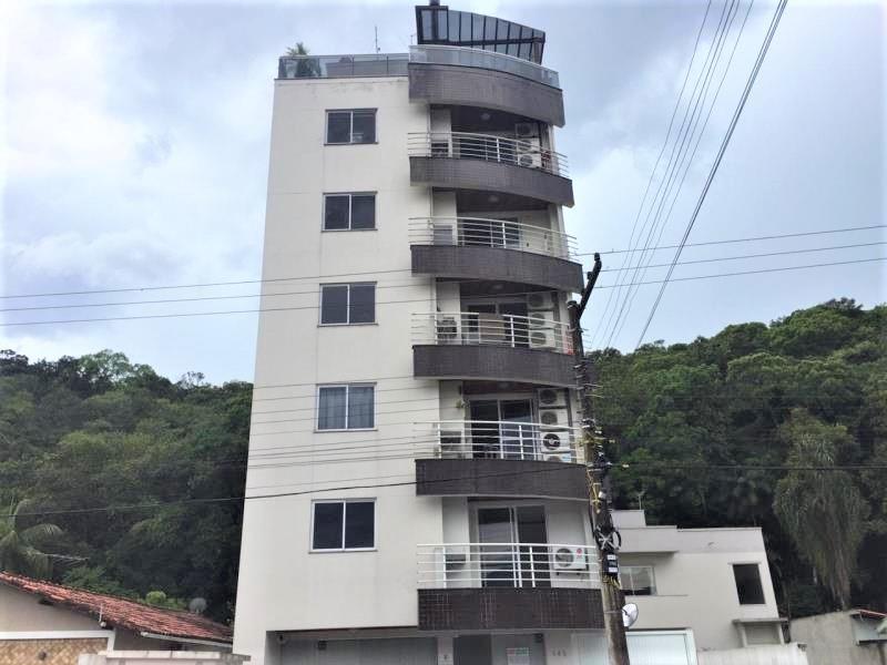 Apartamento Código 4548 para alugar no bairro Centro na cidade de Santo Amaro da Imperatriz Condominio edificio almir coelho