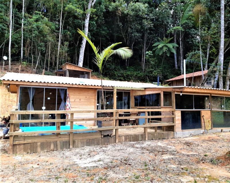 Chácara Código 4557 a Venda no bairro Morro dos Cedros na cidade de Águas Mornas Condominio