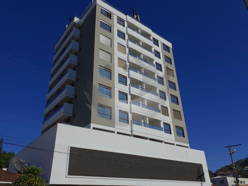 Apartamento Código 4604 para alugar no bairro Centro na cidade de Santo Amaro da Imperatriz Condominio edificio flamingo