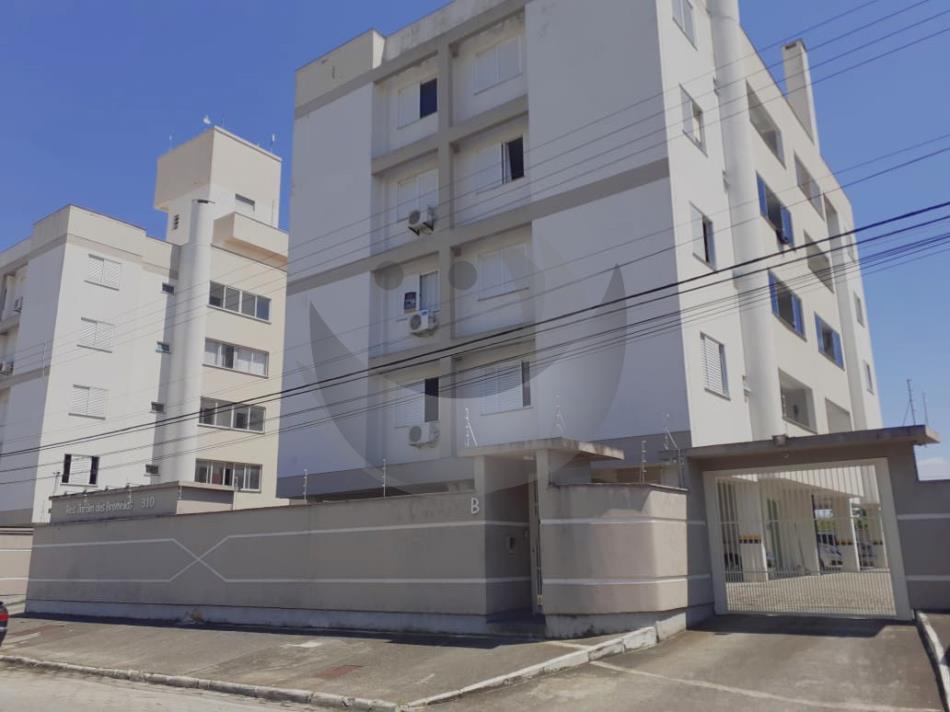 Apartamento Código 4828 para alugar no bairro Ponte do Imaruim na cidade de Palhoça Condominio residencial jardim das bromélias