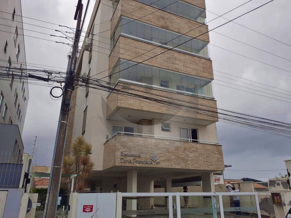 Apartamento Código 4907 a Venda no bairro Ponte do Imaruim na cidade de Palhoça Condominio residencial dona francisca