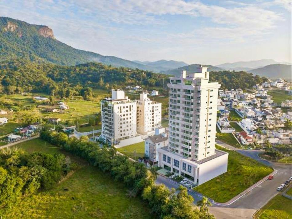 Apartamento Código 5041 a Venda no bairro Pedra Branca na cidade de Palhoça Condominio l'essence residence