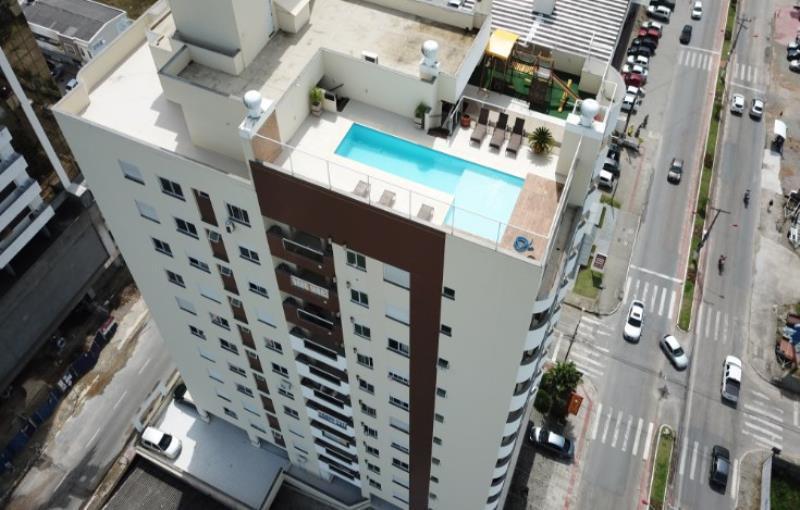 Apartamento Código 3498 a Venda no bairro Pagani na cidade de Palhoça Condominio residencial hamurabi