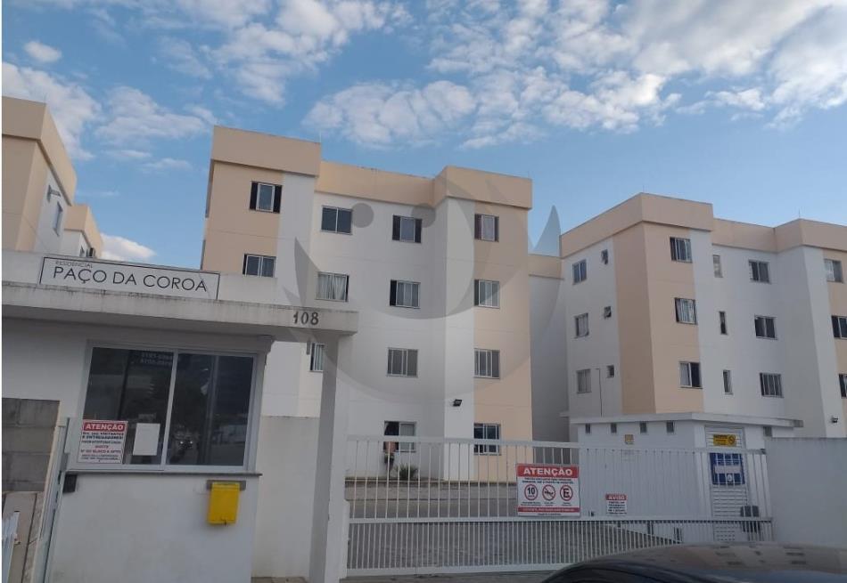 Apartamento Código 4747 para Alugar Residencial Paço da Coroa no bairro São Sebastião na cidade de Palhoça