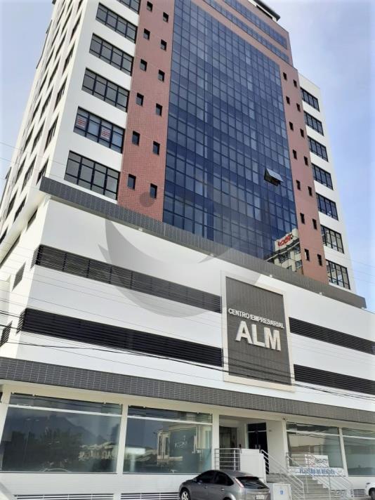 Sala Código 4929 a Venda no bairro Pagani na cidade de Palhoça Condominio centro empresarial alm