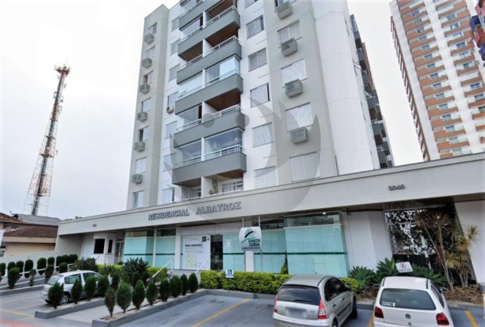 Apartamento Código 4591 para alugar no bairro Centro na cidade de Palhoça Condominio residencial albatroz