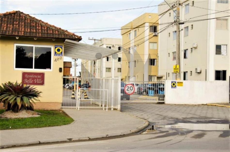 Apartamento Código 4592 para alugar no bairro Barra do Aririú na cidade de Palhoça Condominio residencial belle ville
