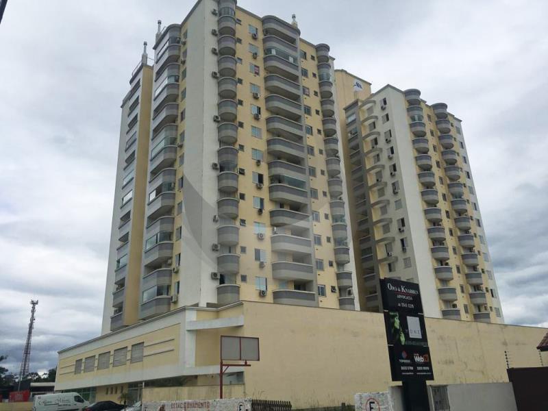 Apartamento Código 3433 para alugar no bairro Centro na cidade de Palhoça Condominio  residencial gustavo kirchner