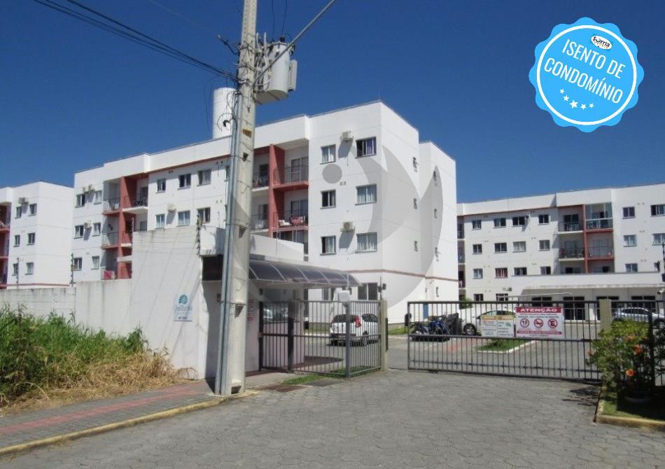Apartamento Código 4742 para Alugar Residencial Santorini no bairro Aririu na cidade de Palhoça