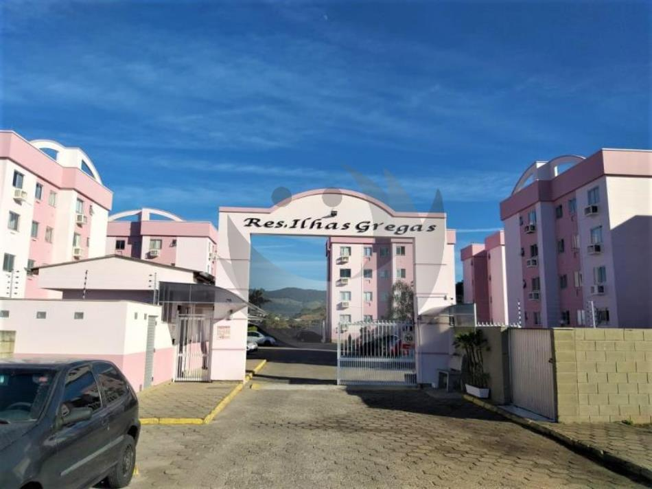 Apartamento Código 5029 para alugar no bairro Aririu na cidade de Palhoça Condominio residencial ilhas gregas