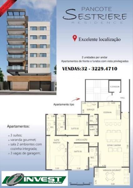 Apartamento-Codigo-15335-a-Venda-no-bairro-Jardim-Laranjeiras-na-cidade-de-Juiz-de-Fora