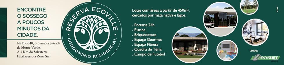Reserva Ecoville - A NATUREZA NO QUINTAL DA SUA CASA.