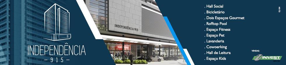 INDEPENDÊNCIA 915 - 2 QUARTOS, LOFTS E STUDIOS NO MELHOR PONTO DA AV. ITAMAR FRANCO