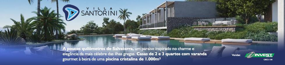 Vila Santorini - Um residencial que mais parece um Resort