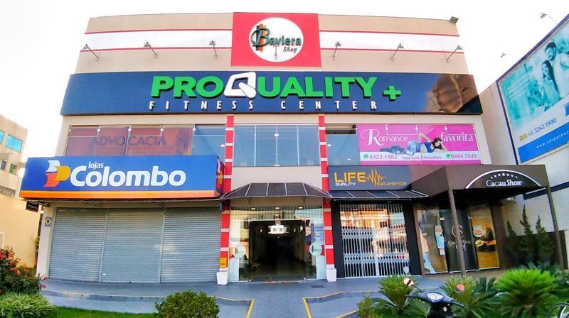Sala Codigo 1260 para alugar no bairro Centro na cidade de Palhoça Condominio shop baviera