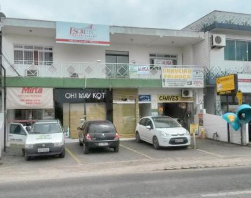 Sala Codigo 112 para alugar no bairro Centro na cidade de Palhoça Condominio cond. silvoni