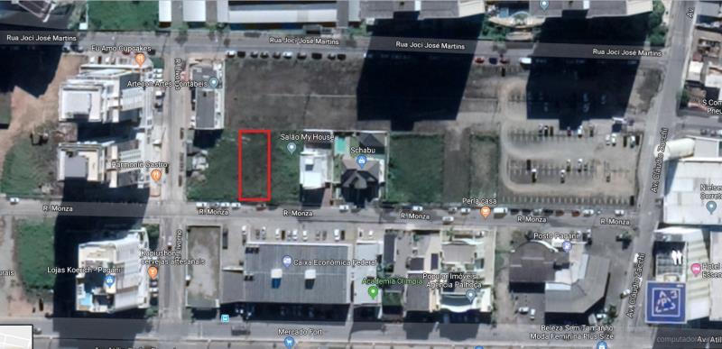 Terreno Codigo 4204 para alugar no bairro Pagani na cidade de Palhoça Condominio