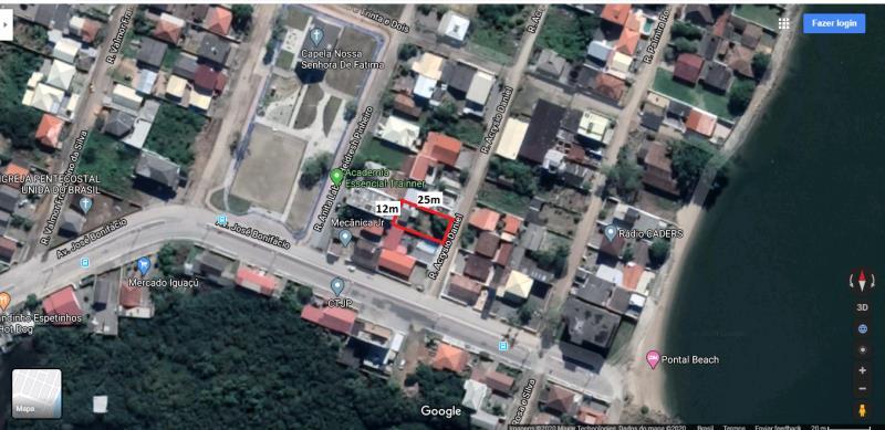 Terreno Codigo 4404a Venda no bairro Praia de Fora na cidade de Palhoça