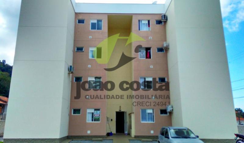 Apartamento Codigo 4614 para alugar no bairro São Sebastião na cidade de Palhoça Condominio cond resid solar dos araças