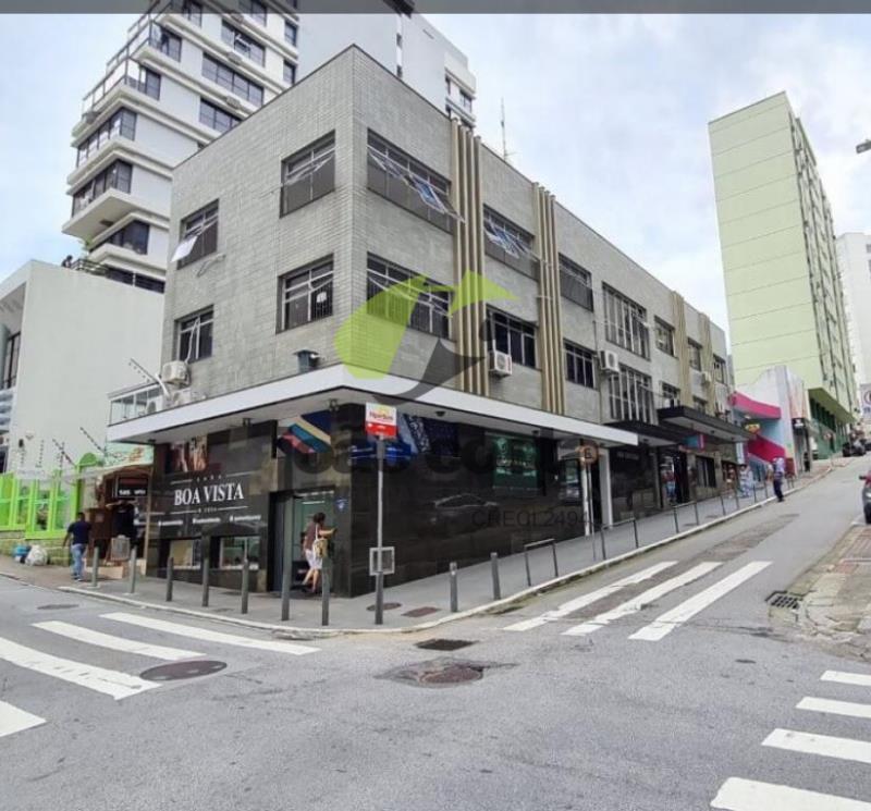 Sala Codigo 4721 para alugar no bairro Centro na cidade de Florianópolis Condominio edificio ana cristina