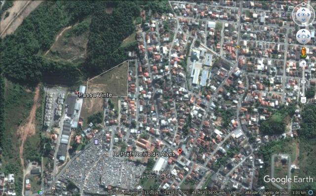Terreno Codigo 3283a Venda no bairro Passa Vinte na cidade de Palhoça