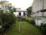 Jardim com arvores frutiferas