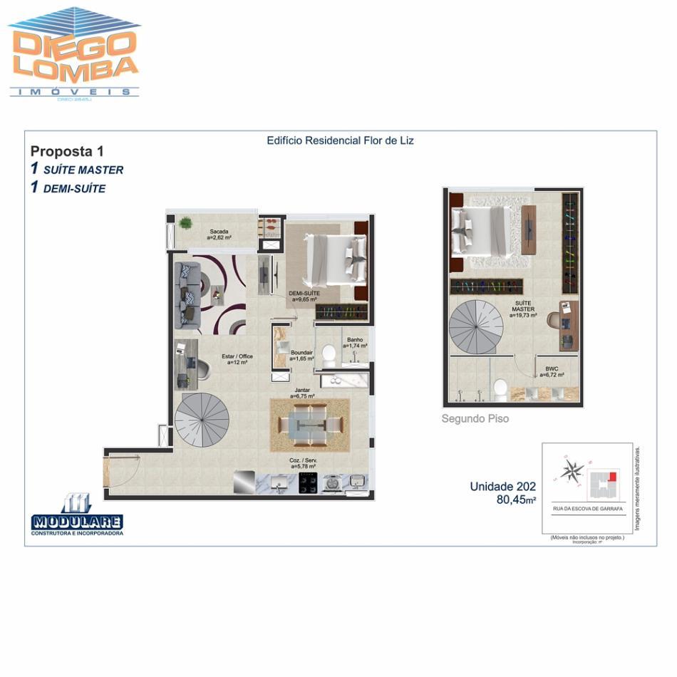 Duplex 202  - Proposta 1