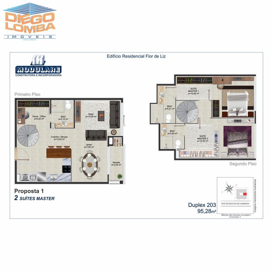 Duplex 203 - Proposta 1