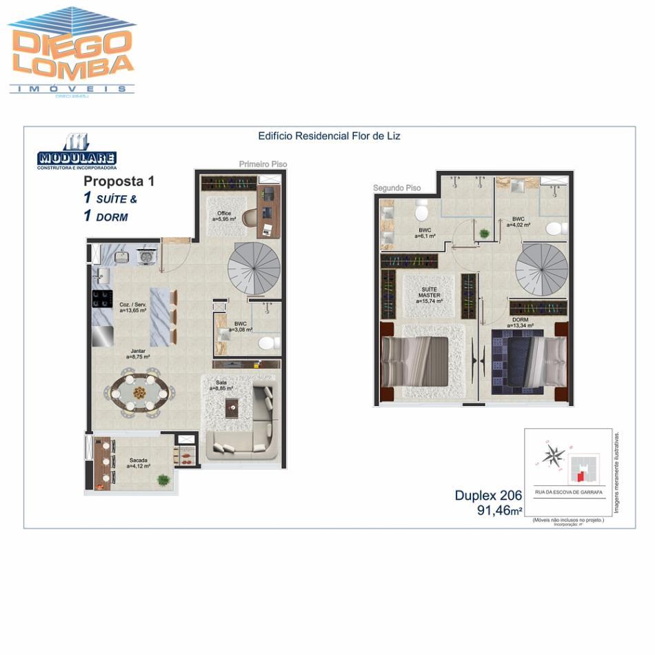 Duplex 206 - Proposta 1