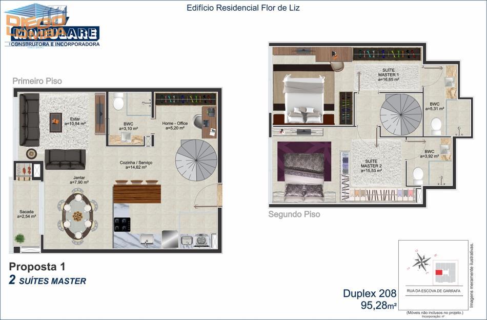 Duplex 208 - Proposta 1