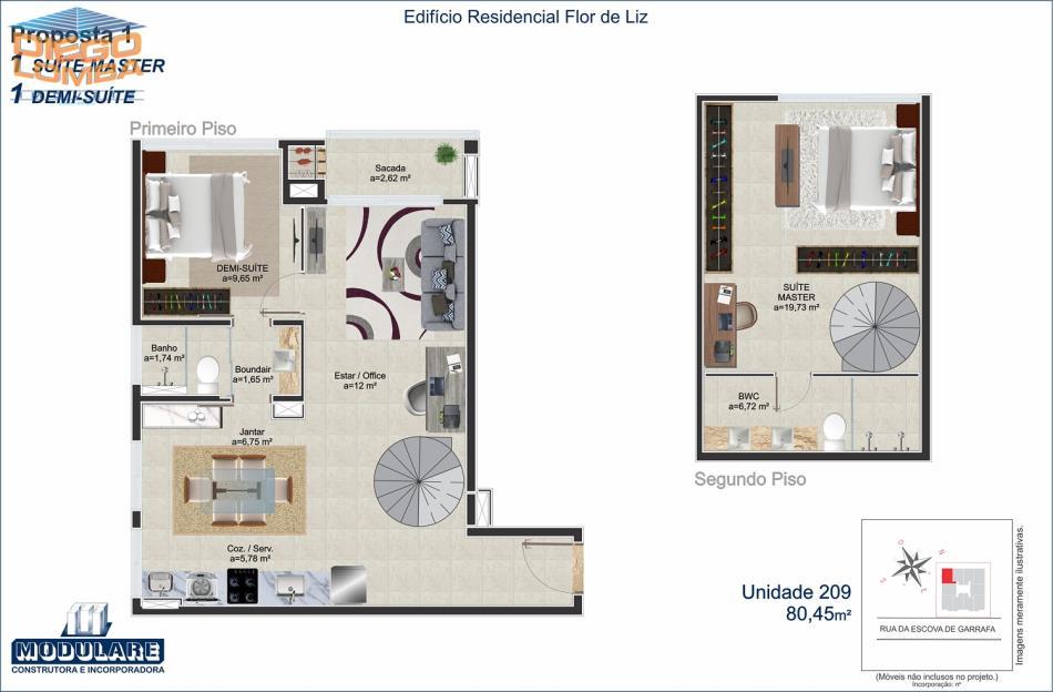 Duplex 209  - Proposta 1