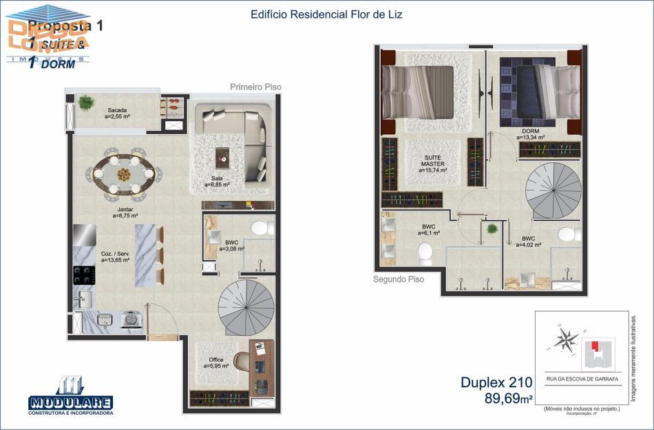 Duplex 210 - Proposta 1