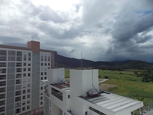 Apartamento Codigo 1051 a Venda no bairro Cidade Universitária Pedra Branca na cidade de Palhoça * Vista sala - www.imoveisroque.com.br