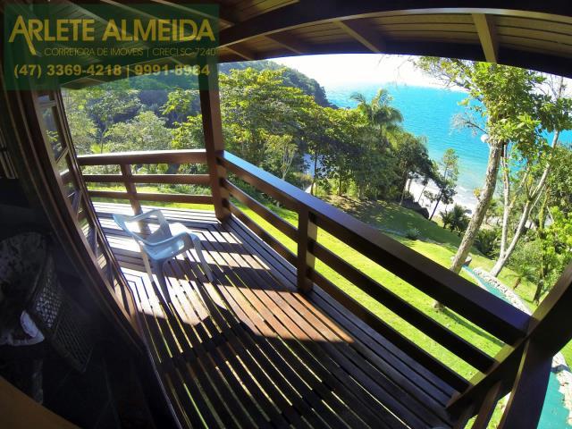 7 - vista para o mar casa locação estaleiro porto belo
