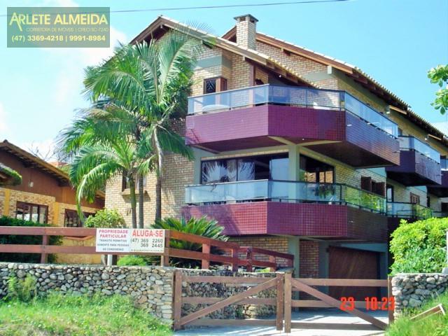 Apartment Codigo 378 para Temporada no bairro Centro na cidade de Bombinhas