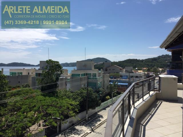 15 - Teraço com vista (foto 1), de cobertura à venda, em Bombas/Bombinhas.