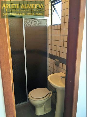 26 - Banheiro da suíte 2 (foto 1), de cobertura à venda, em Bombas/Bombinhas.